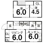針木本町 リフォーム住宅(間取)