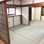 キッチン→6帖→4.5帖