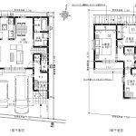 高知市介良中野団地(B棟) 新築住宅(間取)