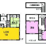 【省令準耐火構造】香南市野市町西野・新築住宅(間取)