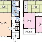 高知市瀬戸西町1丁目 売家・リフォーム住宅 4LDK(間取)