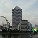 高知市九反田トップワン四国 中古マンション 22階 2LDK(外観)