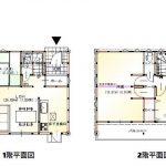 土佐市蓮池1号地 新築住宅 4SLDK(間取)